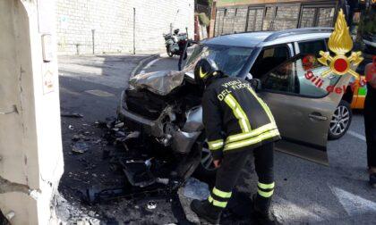 Incidente a Como: c'è un ferito grave