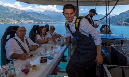 Lo chef Luigi Gandola firma in esclusiva la tappa a Bellagio di Dinner in the sky