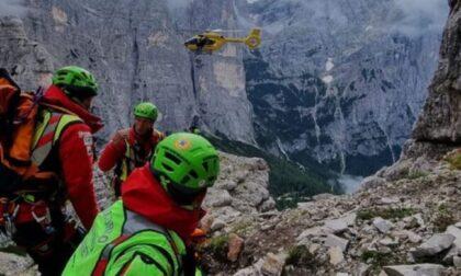 Tragedia sul Civetta, giovane alpinista brianzolo precipita e perde la vita