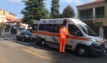 Incidente auto moto a Carugo: soccorsi in codice rosso