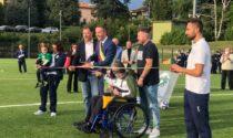 Grande festa a Figino Serenza per l'inaugurazione del nuovo campo sportivo
