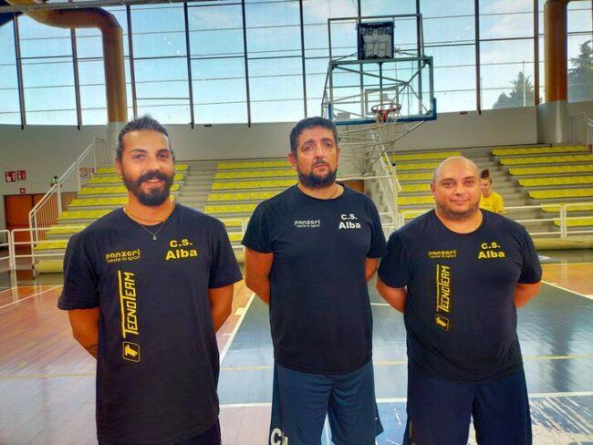 albese volley staff tecnico al completo