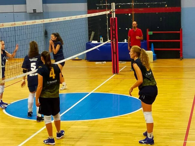 albese volley terzo test