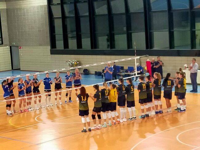 Albese Volley amichevole con Team Danimarca