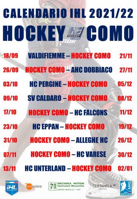 Hockey como calendario IHL