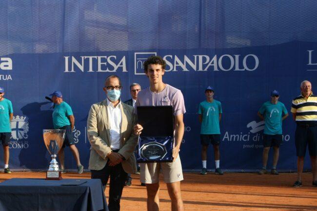 Tennis lariano Juan Manuel Cerundolo