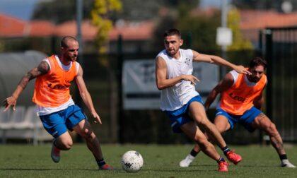 Como calcio: i lariani hanno ripreso ad allenarsi e per tutta questa settimana saranno a Cislago