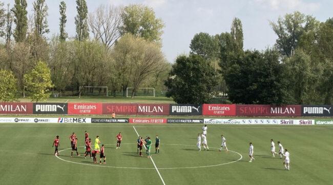 Como calcio Primavera ko con il Milan