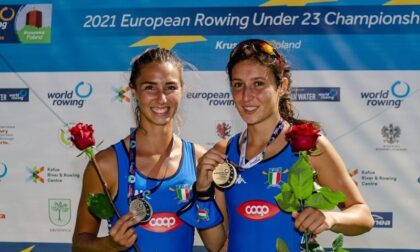 Canottaggio lariano Greta Parravicini è campione d'Europa a Kruszwica sul due senza pesi leggeri