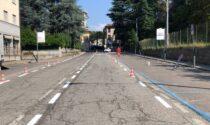 Strada più stretta in centro per rallentare i veicoli
