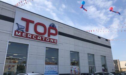 Inaugurato il nuovo Mercatone Top a Novedrate