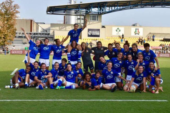 Rugby femminile Italia ai mondiali