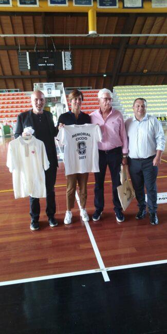 pallacanestro lariana Memorila Ciccio staff comense