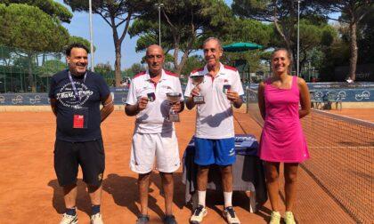 Tennis lariano Primo Veneri è campione italiano nel torneo di doppio categoria over 65