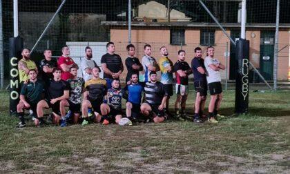 Rugby Como i cinghiali lariani hanno iniziato ad allenarsi per preparare il campionato di serie C