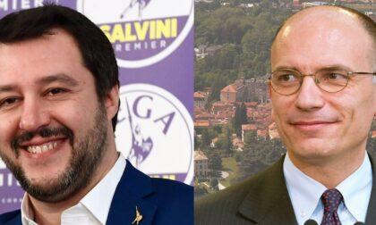 Doppio appuntamento per un sabato politico: Salvini a Como, Letta a Cernobbio