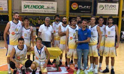 Basket C GoldBusto Arsizio doma la Virtus e conquista il 37° Trofeo Malacarne
