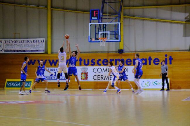 Basket C Gold Virtus Cermenate in campo