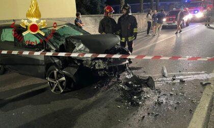 Incidente a Gravedona: un ferito SIRENE DI NOTTE