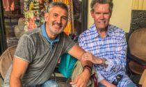 Star della country music al concerto di Paolo Ercoli a Bellagio