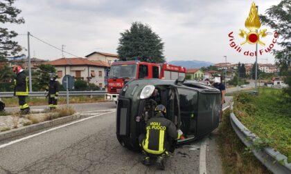 Incidente a Montano Lucino ferita una 27enne