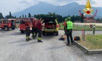 Recuperato un ciclista ferito a Montemezzo