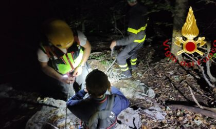 Si smarrisce su un sentiero del Cornizzolo, salvata da Soccorso alpino e Vigili del fuoco