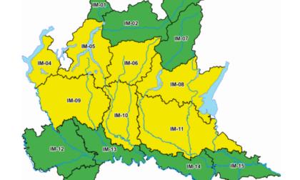Meteo in peggioramento: allerta gialla nel Comasco