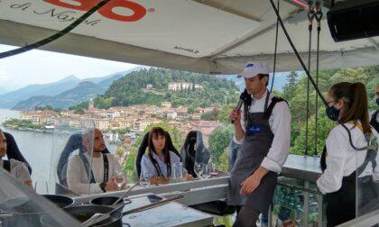 Dinner in the Sky: si vola a 50 metri di altezza, da oggi a Bellagio