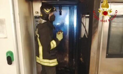 Incendio al Bennet, chiuso il centro commerciale