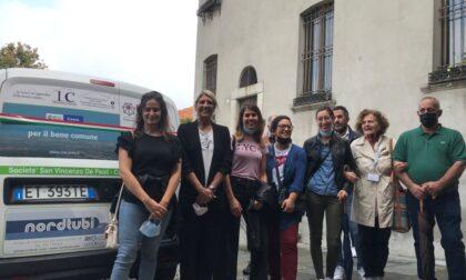 L'associazione San Vincenzo De Paoli inaugura un nuovo mezzo