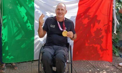 Festa in paese per il campione paralimpico Paolo Cecchetto
