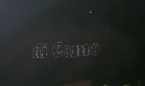"""""""Questa montagna fa parte della Provincia di Como"""": la scritta luminosa sul San Martino fa impazzire i lecchesi VIDEO"""