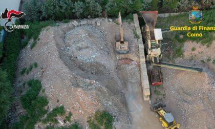 Traffico di rifiuti e bancarotta fraudolenta a Rovellasca: con il materiale abusivo costruiti il centro sportivo di Cislago e la stazione di Garbagnate