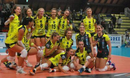 Albese Volley la Tecnoteam conquista la prima vittoria stagionale e doma il Club Italia