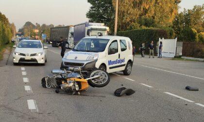 Il motociclista morto è un noto politico