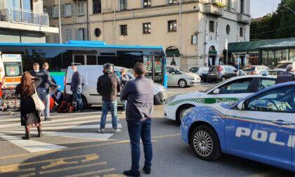 Paura per un ventenne investito in piazza Matteotti