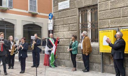 Como ha dedicato una piazza a Piercesare Bordoli, fondatore della Famiglia Comasca