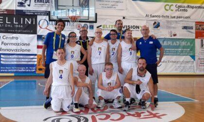 Euro TriGames, l'Italia domina nella pallacanestro. Anche grazie a un atleta di Fino Mornasco