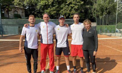 Tennis Como, la squadra maschile supera nello spareggio finale il SanZeno e sale in serie C
