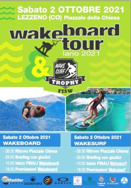 Sport d'acqua wakeboard tour