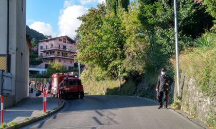 Incidente a Canzo, scontro tra auto