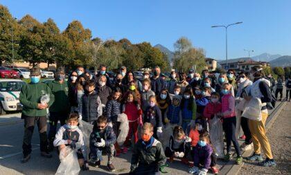 Giornata del Verde pulito, tanti giovani per ripulire il Pian d'Erba